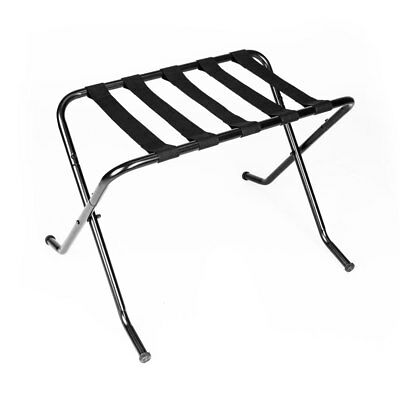 Metal Portable Travel Folding Luggage Suitcase Rack Stand Home Hotel Room US