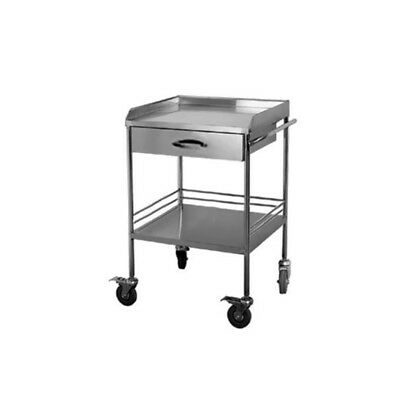 Cart Dental Trolley 2 Layer With One Drawer Stainless Steel  Hospital/Clinic FS