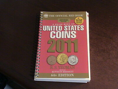 A Guide Book of U. S. Coins, R. S. Yeoman, 64th Edition, 2011  *No Reserve*  B51