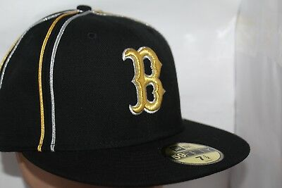 pretty nice 826b4 64f49 Boston Red Sox New Era MLB Gold n Silver 59fifty,Fitted,Cap,Hat