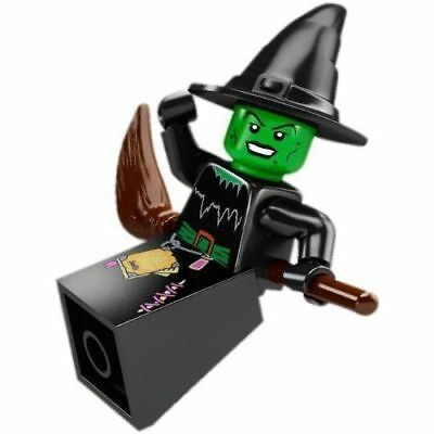 LEGO Series 2 Witch Minifigure Halloween Broom Magic City Monster Fighters NEW