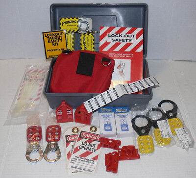 PRINZING & BRADY Lockout/Tagout Tools, Mixed set, Unused