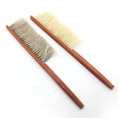 2pcs Wooden Handle Bee Hive Brushes Beekeeping Beehive Tools Pig Bristle