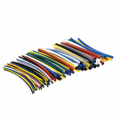 140Pcs Assorted 2:1 Heat Shrink Tubing Sleeving Wrap Electrical Wire Cable