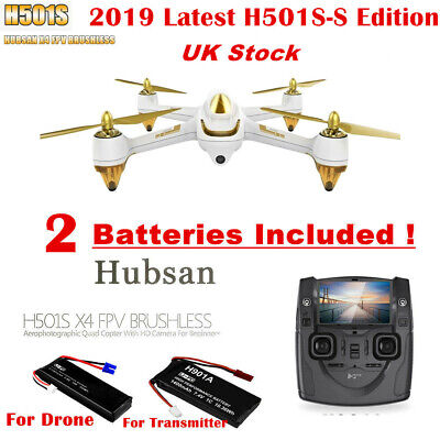 Hubsan H501S X4 FPV Brushless RC Quadcopter 1080P HD Camera GPS Follow Me Drone