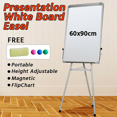 Portable Tripod Display White Board Dry Easel Presentation Easel Stand Magnetic