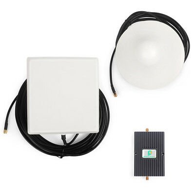 850MHz GSM 3G Signal Booster Mobile Repeater 4G LTE +Panel/Ceiling Antenna Kit