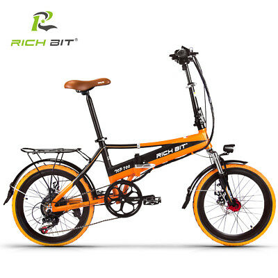 RICHBIT City Electric bike 20'' Folding ebike 48V *250W Motor electric Bicycle