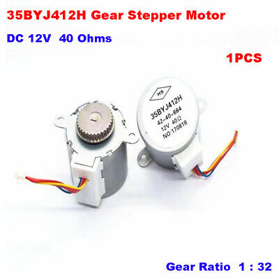 35BYJ412H DC 12V Gear Stepper Motor Micro Gear Stepping Motor Synchronous wheel
