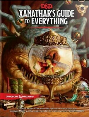 Xanathar's Guide to Everything (Hardback or Cased Book)