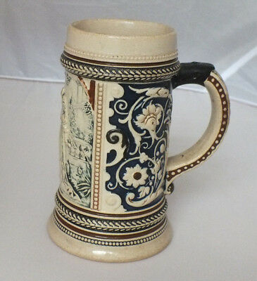 "German Beer Stein Mug 0.3L 6"" tall Collectible Number 103"