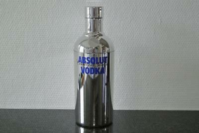 $ Absolut Vodka Chrome Shaker 2008 Limited Singapore Release Excellent Condition