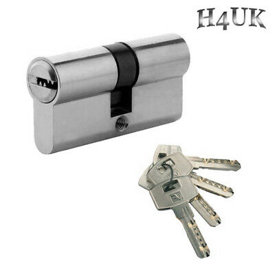 Euro Cylinder Barrel UPVC Door Lock Anti Drill for PVC & Aluminium ,Wood Doors
