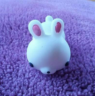 White rabbit squishy toy / stress reliever