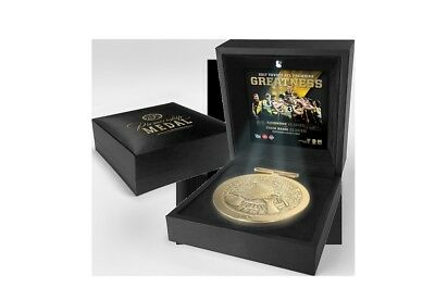 Richmond 2017 AFL Official Premiership Medallion In Black LED BOX IN STOCK NOW