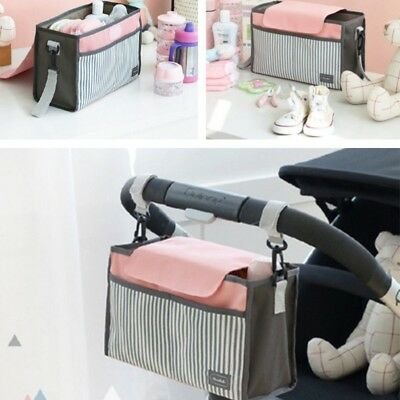 Portable Baby Diaper Stroller Bag Capacity Mammy Multifunction Nappy Changing