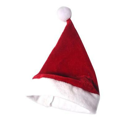 1/6 Red and White Christmas Santa Claus Hat for Ball Joint Dolls Accessories