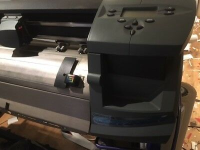 Gerber Odyssey 1220mm Vinyl Cutter with Auto Tracking + Gerber Basic Software
