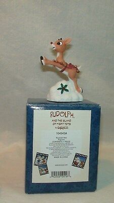 """Rudolph And The Island Of Misfit Toys """"rudolph Mini Figurine"""" Enesco #104543A"""