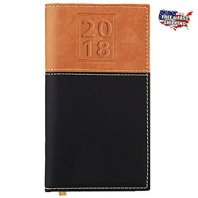 2018 Calendar Pocket Pal Planner Diary New Book Personal Organizer with Notepad