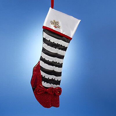 "Wizard of Oz 19"" Ruby Slippers Holiday Stocking"