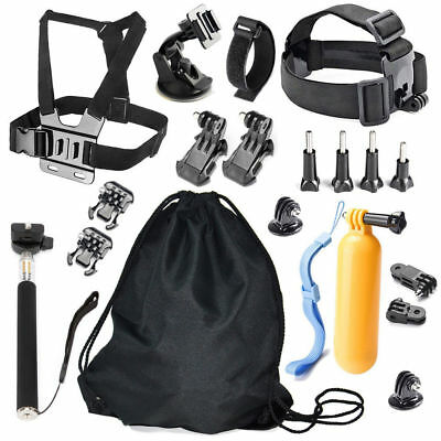 20 in 1 Mount Set Outdoor Sports Kit Accessories for All Gopro Hero 6 5 4 3 2 1