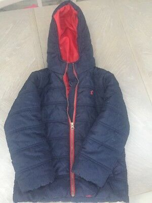 Boys Quilted Joules winter Jacket Age 7