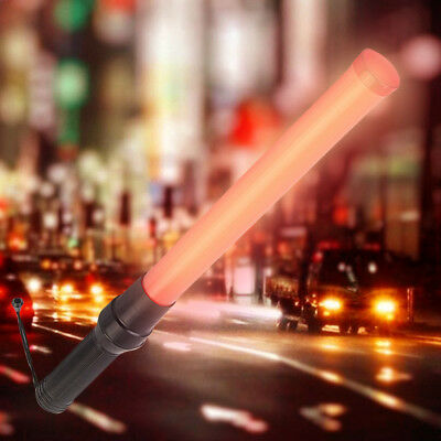 Traffic Safety Rescure Signal LED Road Control Warning Flashing Light Wand Baton