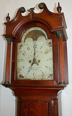 PRICE REDUCED! Ephraim & Charles Clark 1806 Phili Federal Grandfather Clock