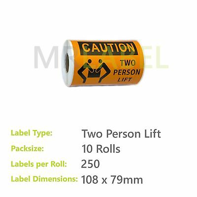 Pack of 10 - Two Person Lift