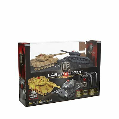 Propel 'Laser Force' Remote Controlled Rc Assault Tanks From Debenhams