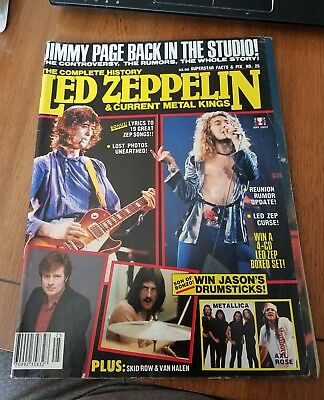 The Complete History, Led Zeppelin & current metal kings.  1991