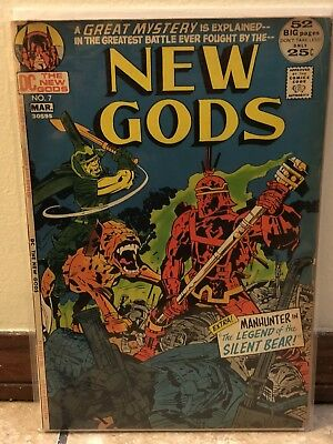 The New Gods #7 DC Comics 1ST APPEARANCE STEPPENWOLF Justice League Movie First