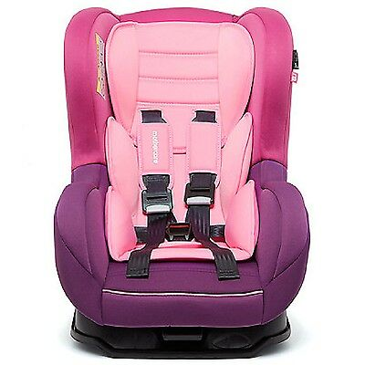 Nania Cosmo SP 0-4YR Rear & Forward Facing Recliner Car Seat PINK 3T RRP £100 FF