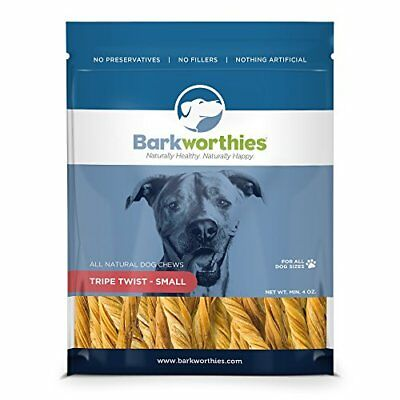 Barkworthies 4 oz Tripe Twist, 1 Pack, Small
