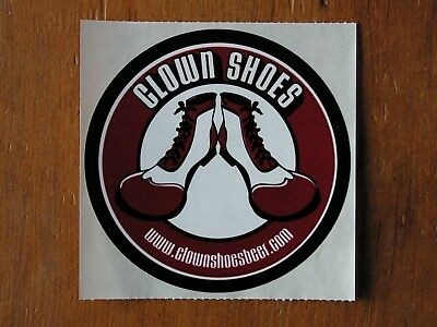 Clown Shoes Beer Sticker! ~NEW Craft Brewery Brewing Co. Decal~