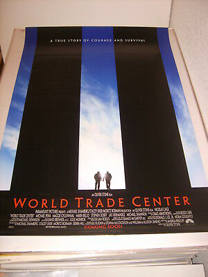 WORLD TRADE CENTER (2006) US AUTHENTIC ORIGINAL 27x40 DS MOVIE POSTER (S)