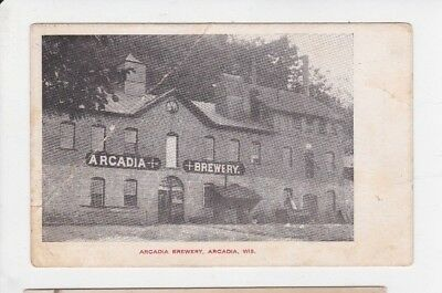 Arcadia Brewery.        Arcadia, Wis      1909    Posted Rrpc