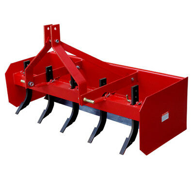 5ft Box Scraper Grader Blade Tractor CAT1  3 Point Linkage 25HP+