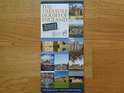 The Treasure Houses of England - Two For The Price Of One Voucher