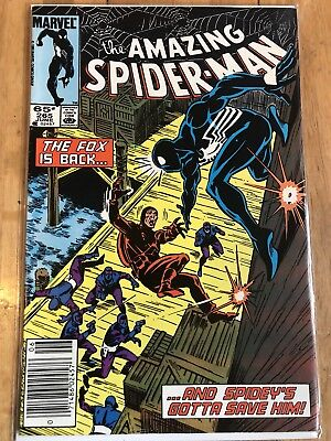 Amazing Spider-Man 265 1st APPEARANCE SILVER SABLE MOVIE First App KEY Comic HoT