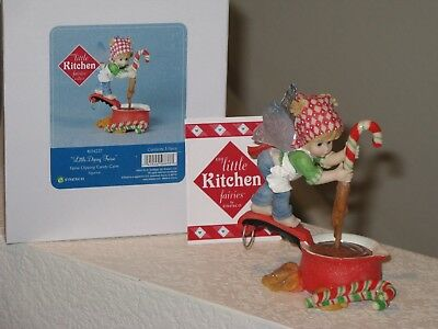 My Little Kitchen Fairies Little Dipsey Fairy Dipping Candy Cane NIB Year 2013