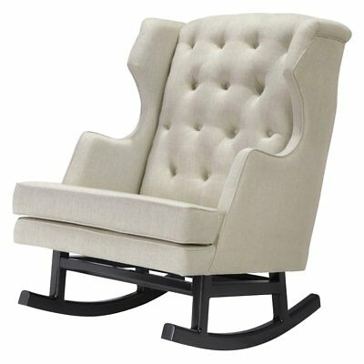 Nursery Works Oatmeal Empire Rocker, Dark Legs