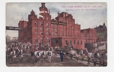 Theo Hamm Brewing Co.    St. Paul ,mn    1910       Posted Rrpc