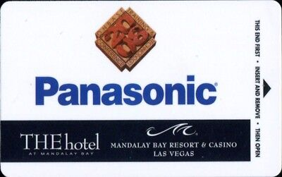 Las Vegas Mandalay Bay Casino Panasonic Room Key