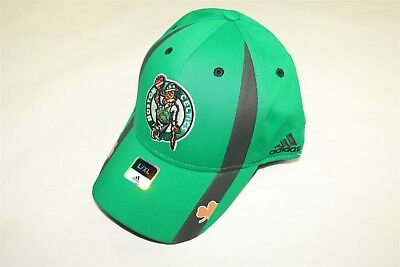 3d7fefc8ed8 BOSTON CELTICS - NBA ADIDAS REVOLUTION 30 FLEX FITTED GREEN HAT CAP Large XL