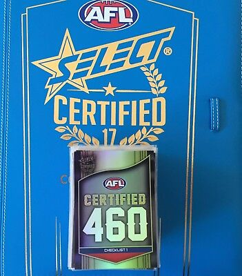 AFL Select 2017 Certified 460 Bulk listing pick your card