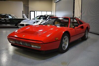 1989 Ferrari 328  1989 Ferrari 328GTS Red/Tan Collector Quality Excellent Records and Ownership