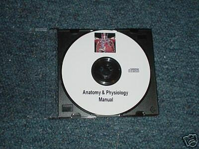 Anatomy Physiology A&P NURSING MEDICAL STUDY COURSE CD