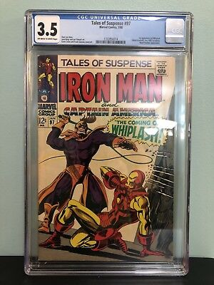 Tales of Suspense #97 CGC 3.5 - First Appearance of Whiplash